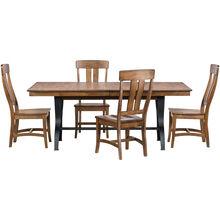 District Copper 5 Piece Dining Set
