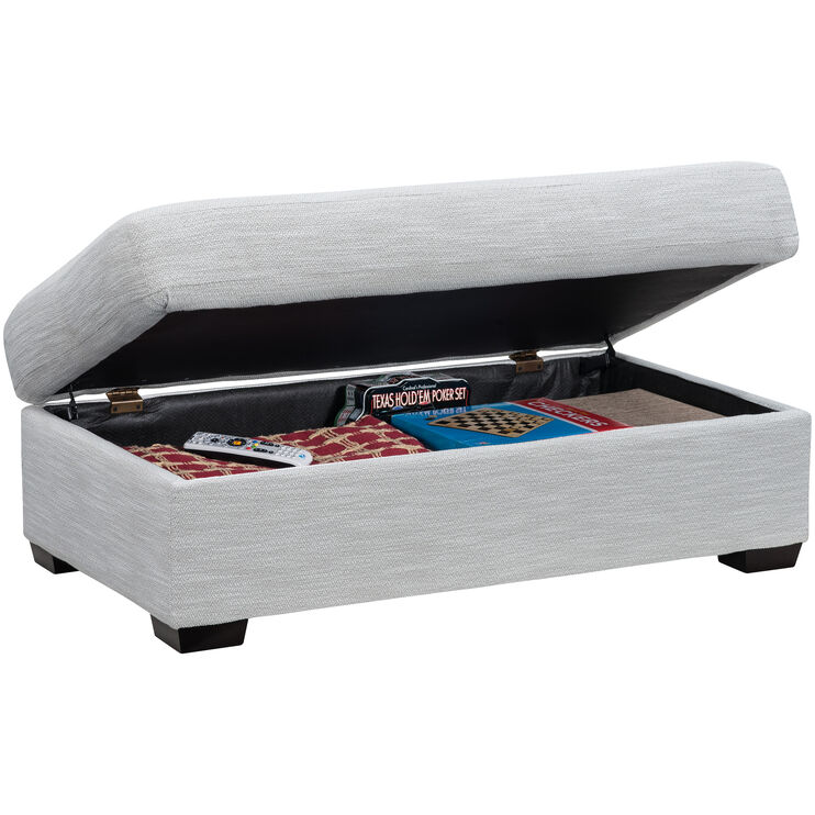 Millport Birch Storage Ottoman