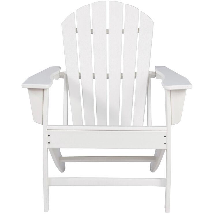 Sundown White Adirondack Chair