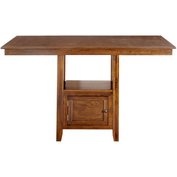 Woodwyn Med Oak Counter Dining Table