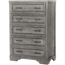 Foundry Brushed Pewter Chest