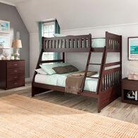 Rowe Dark Cherry Twin over Twin Bunk Bed