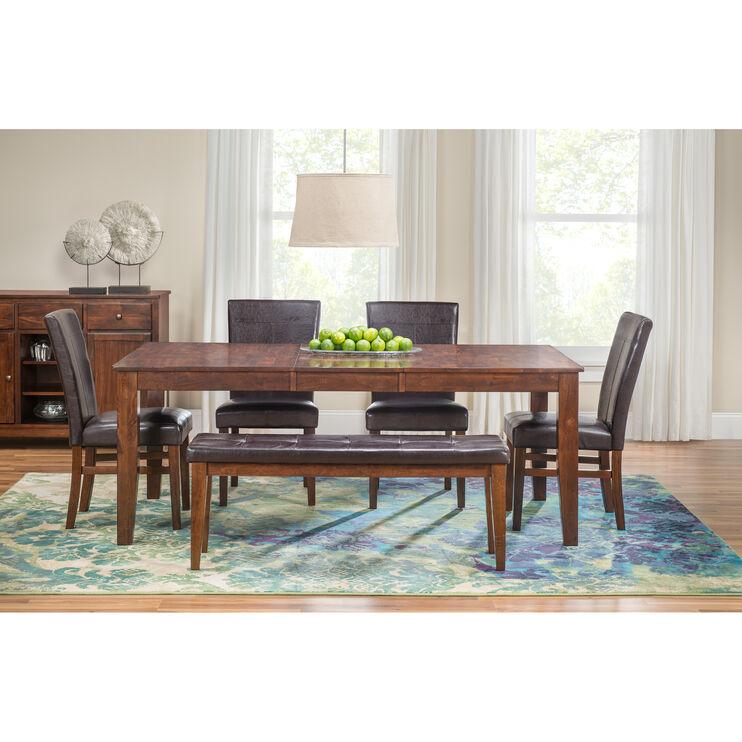 Durham 5 Piece Dining Set Living Room Sets Slumberland Kona 5Pc Parsons