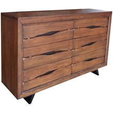 Dana Point Rustic Brown Dresser