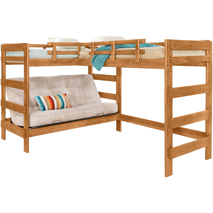 Heartland Honey Futon Loft Bed
