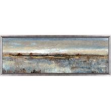 Gray Mist II Framed Canvas