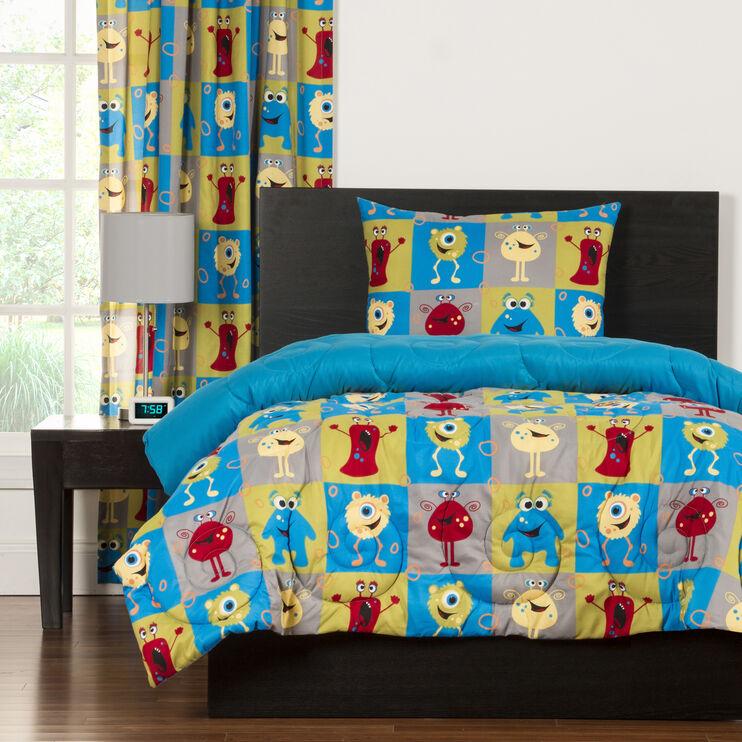 Crayola Monster Friends 3 Piece Full/Queen Comforter Set