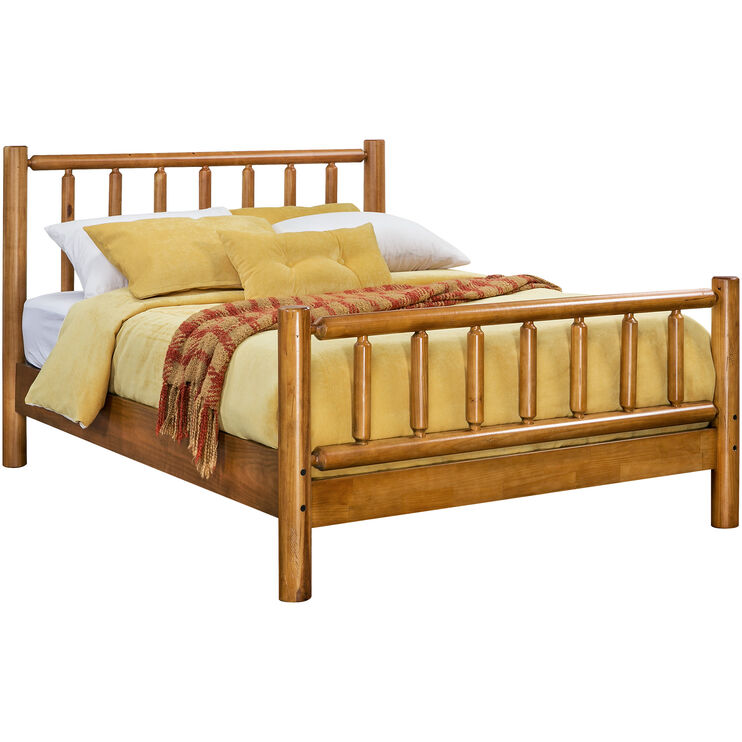 Timber Creek Pine Queen Bed