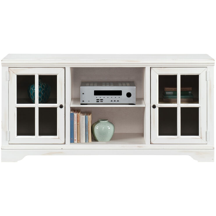 Hyland Antique White Console