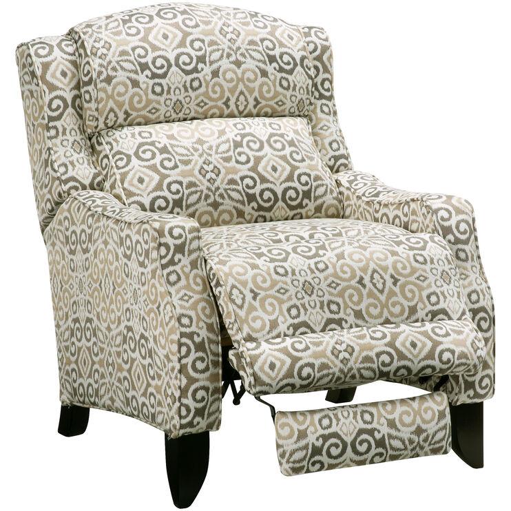 Slumberland Furniture Chandler Driftwood Leg Recliner