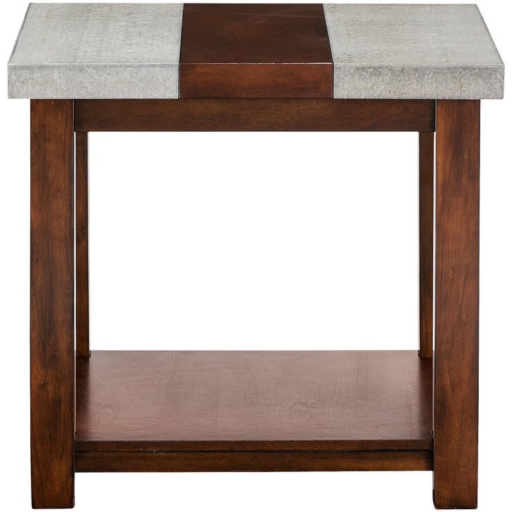 Cascadian Brown End Table