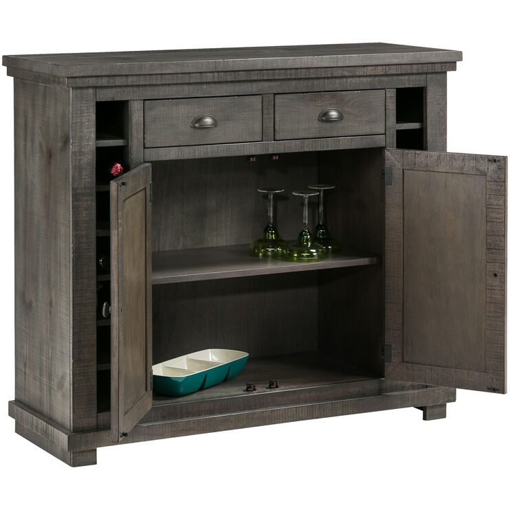 Willow Distressed Gray Server