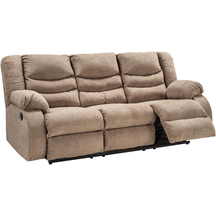 Kent Mocha Reclining Sofa