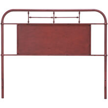 Vintage Red Queen Headboard