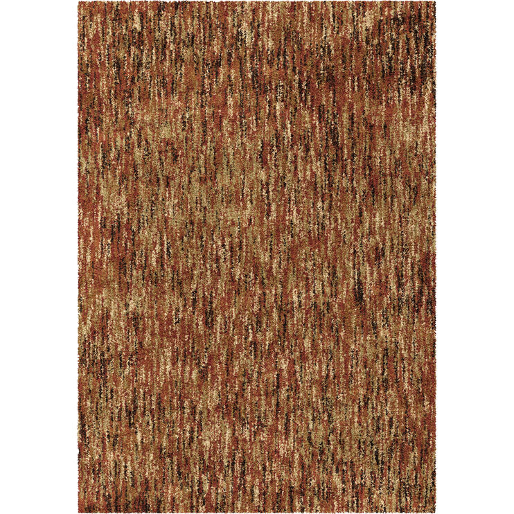 Millenium Solid 5 x 8 Red Rug