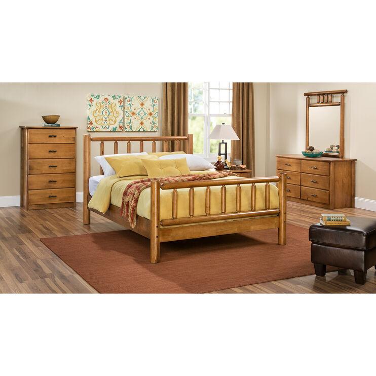Timber Creek Old Pine Queen Bed
