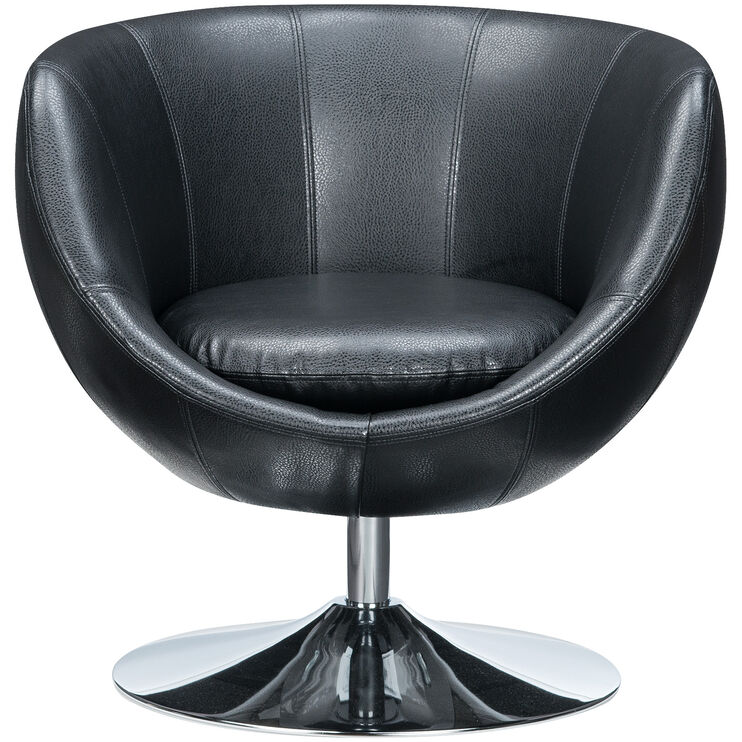 Globus Black Swivel Chair