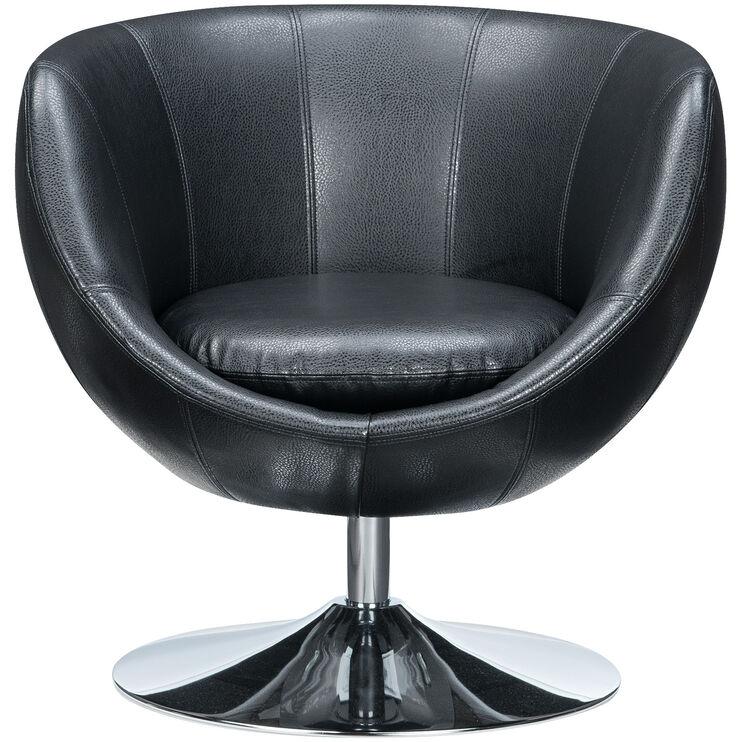 Globus Black Swivel Chair