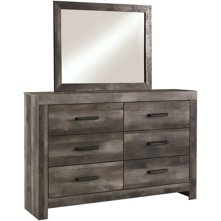 Wynnlow Gray Mirror