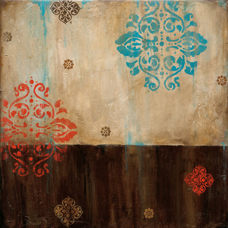 Damask Patterns I Framed Art