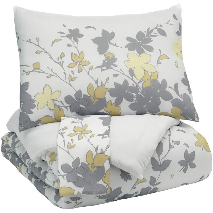 Maureen Gray Queen Comforter