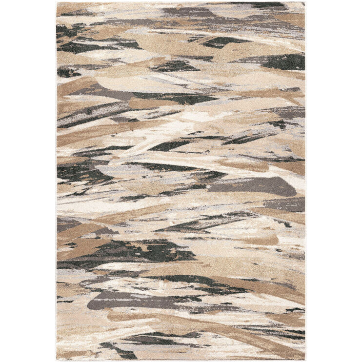 Riverstone Impressionist Multi-Colored 5x8 Rug