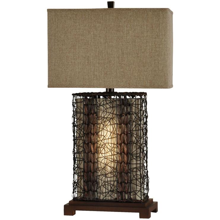 Freeport Bronze Lamp with Night Light