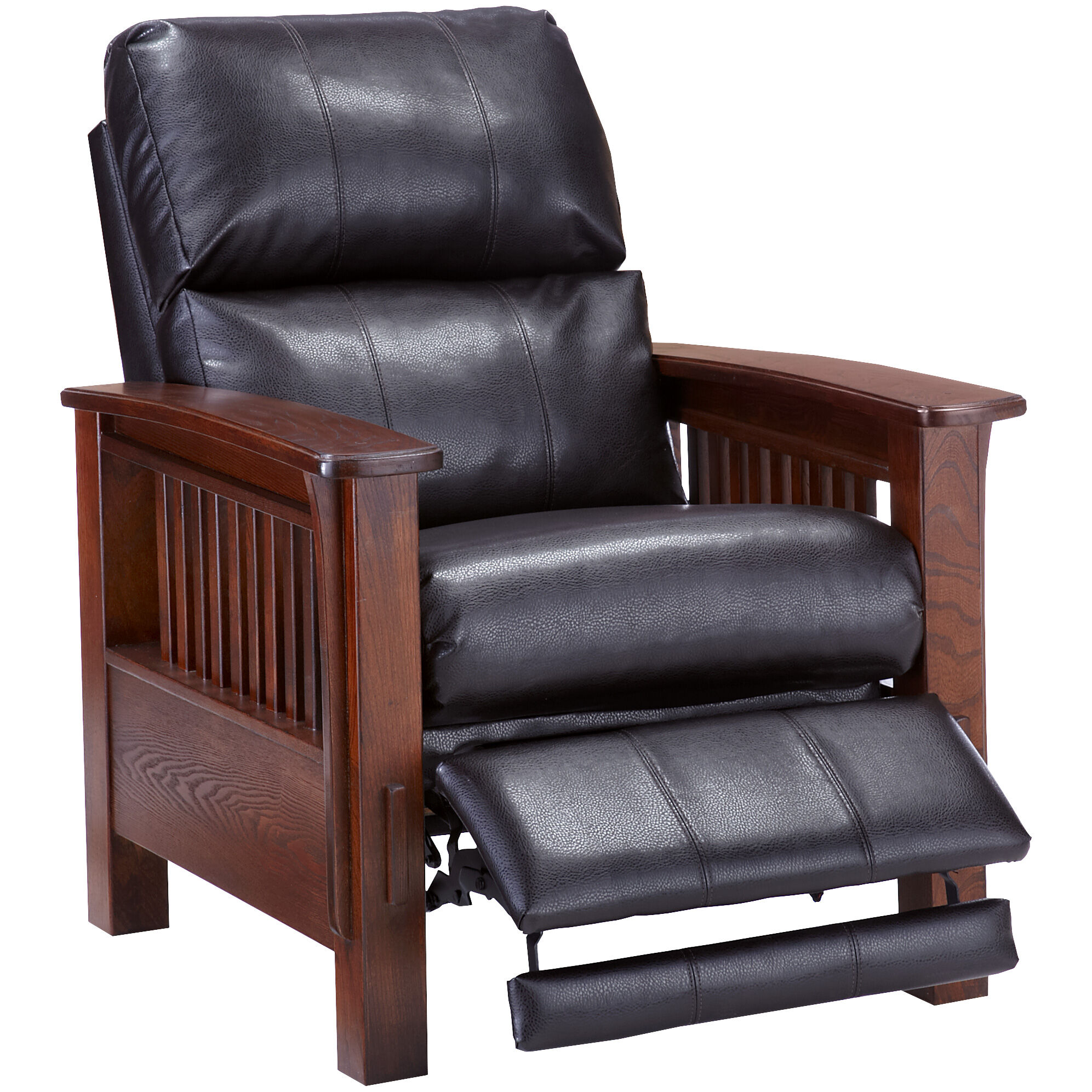 Beau Wright Chocolate Recliner; Wright Chocolate Recliner ...