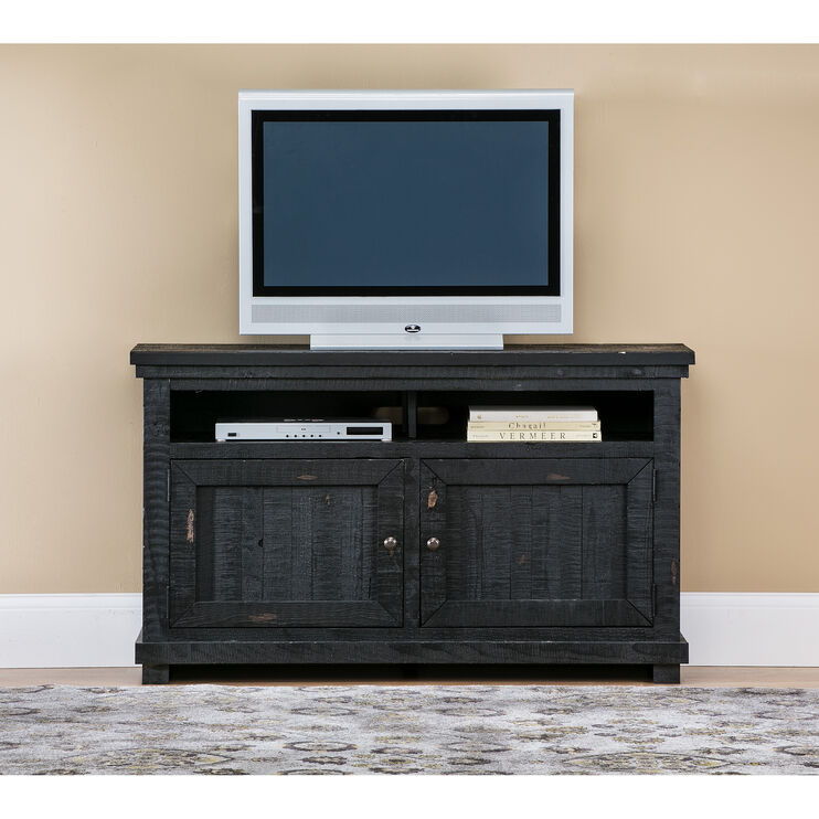 "Willow Black 54"" Console"