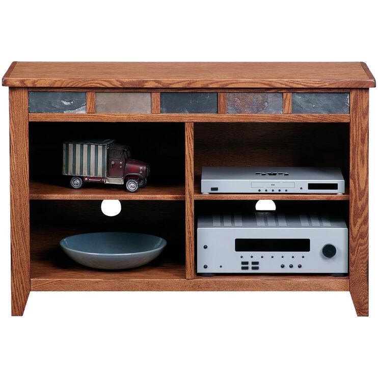 Evanston Antique Oak 44 Inch Console