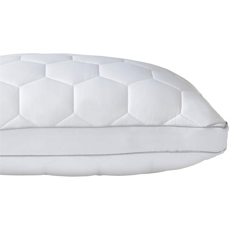 SHEEX Aero Fit Bright White Queen Side Sleeper Pillow