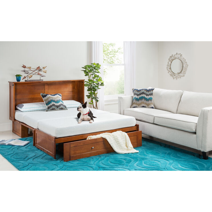 Clover Cherry Cabinet Bed