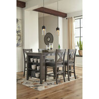 Caitbrook 5 Piece X Back Dining Set