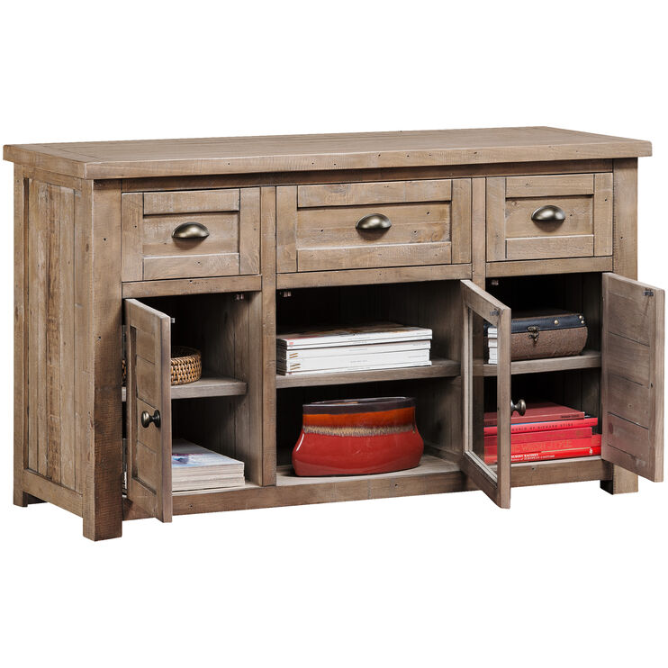 Slater Mill Pine 50 Inch Console