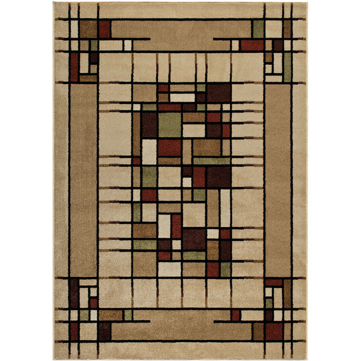 Four Seasons Eldridge Beige 5 x 8 Rug
