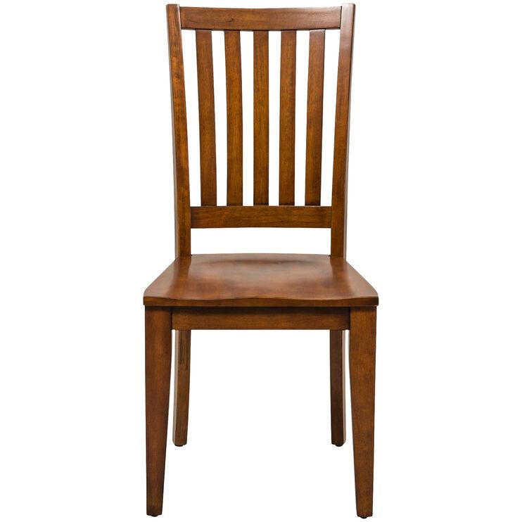 Hampton Bay Cherry Desk Chair