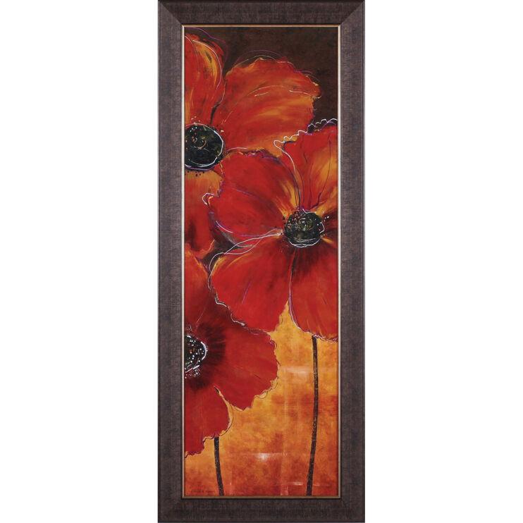 Midnight Poppy II Framed Art