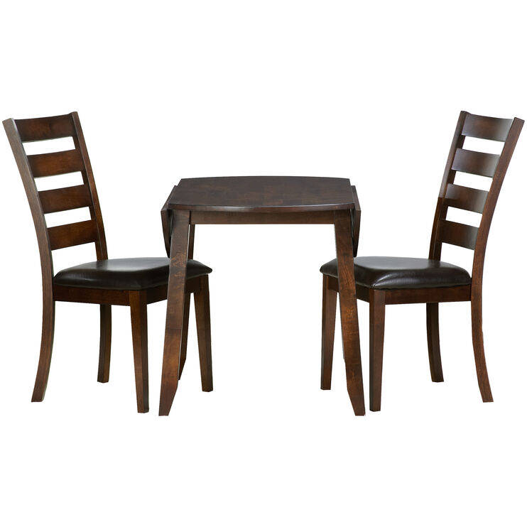 Kona 3Pc Drop Leaf Dining Set