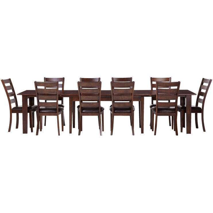 Kona Raisin 11 Piece Dining Set