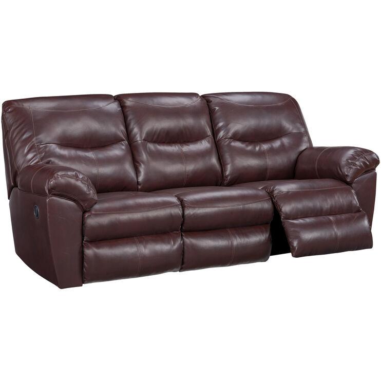 Slumberland Furniture | Sitka Mahogany Sofa | slumberland mahogony sectional