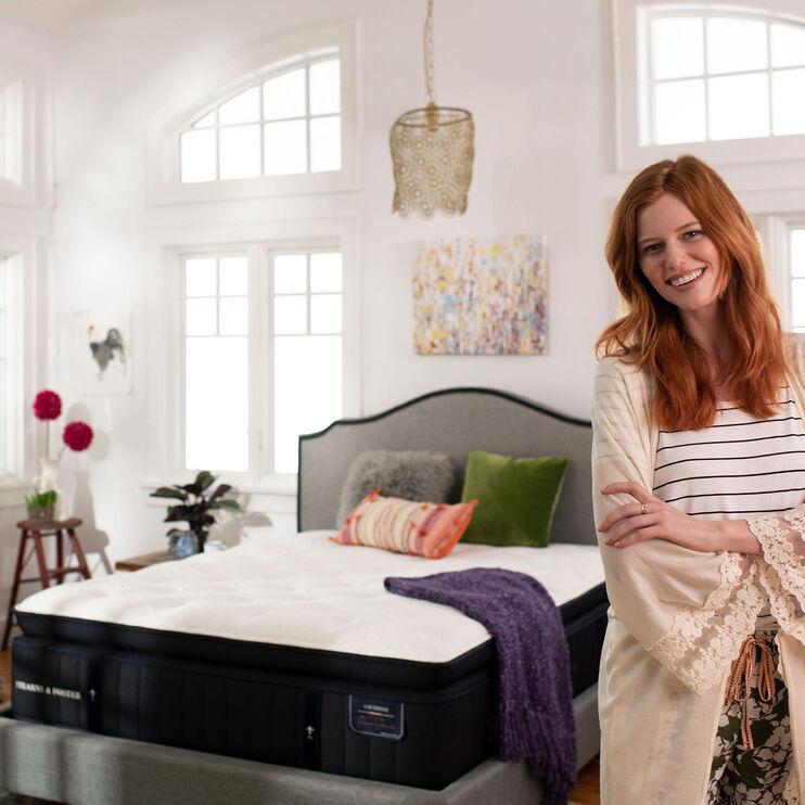 Stearns and Foster Lux Estate Cassatt Firm King Mattress