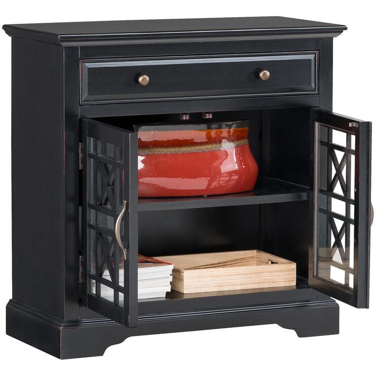 Chilton Antique Black Cabinet