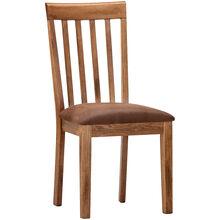 Sedona Rustic Oak Slatback Side Chair