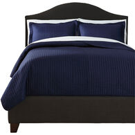 Raleda Navy Queen Coverlet