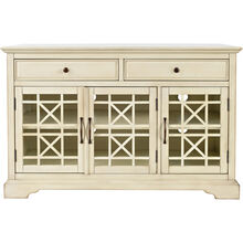 Chilton Antique White 50 Inch Console