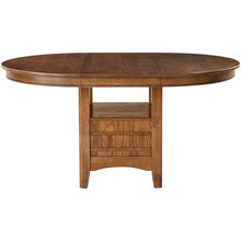 Santa Rosa Oak Pedestal Dining Table