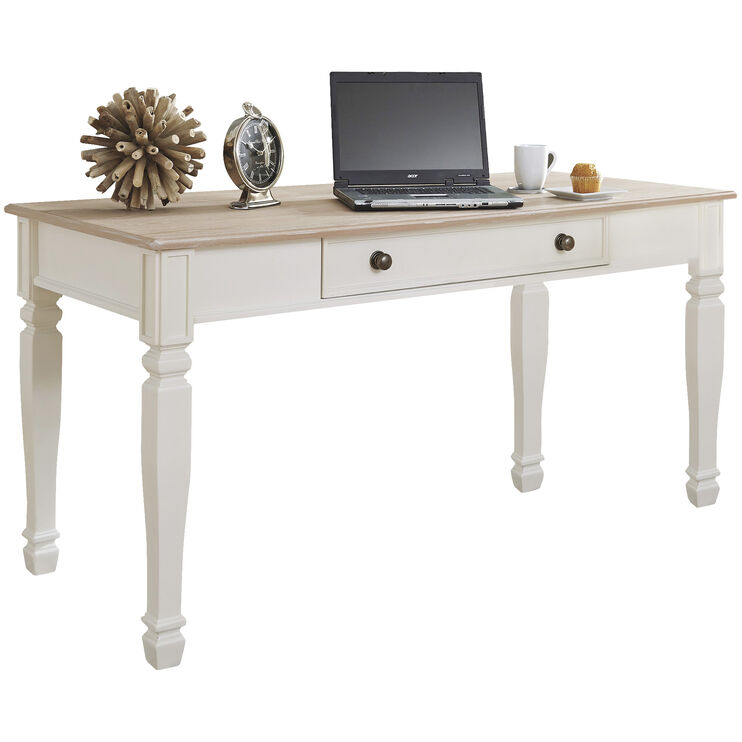 Emma Cream Leg Desk