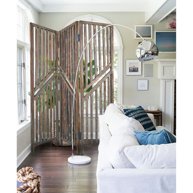 Farmhouse Washed Brown Adler Screen