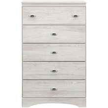 Tyler White 5 Drawer Chest