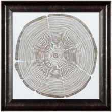 Tree Cross Cuts Tree Lines Wall Art
